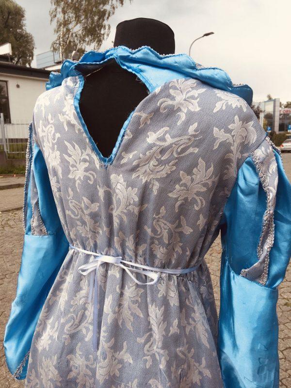 Elza Krolowa Lodu suknia damska M 10