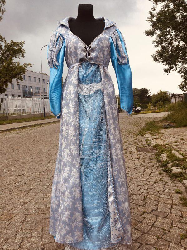 Elza Krolowa Lodu suknia damska M 2