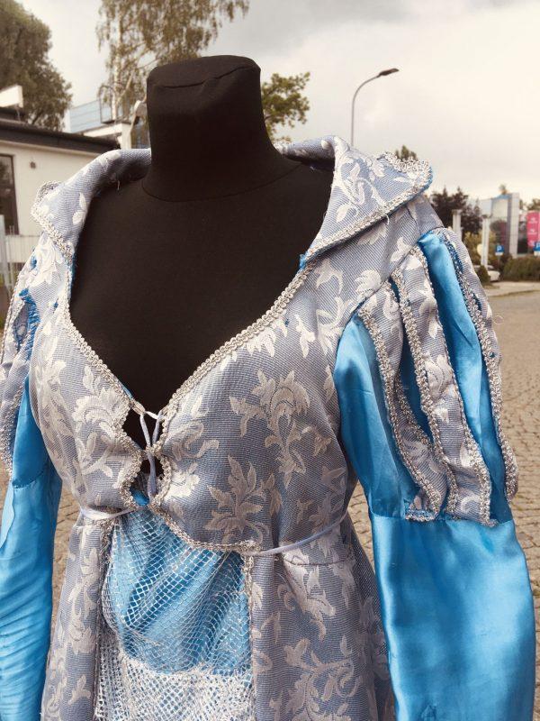 Elza Krolowa Lodu suknia damska M 5