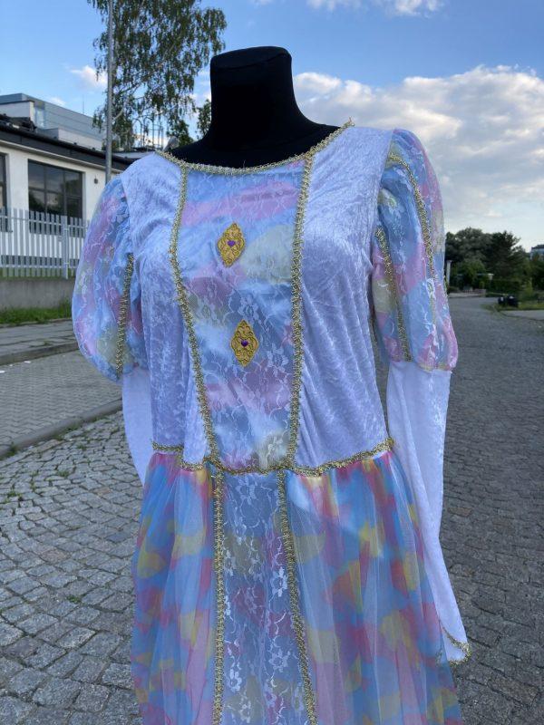 Ksiezniczka z Bajki teczowa damski kostium M 2