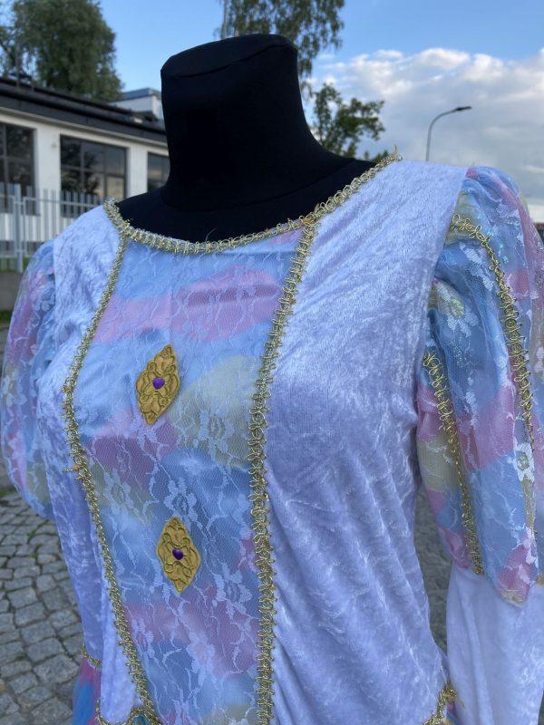 Ksiezniczka z Bajki teczowa damski kostium M 3