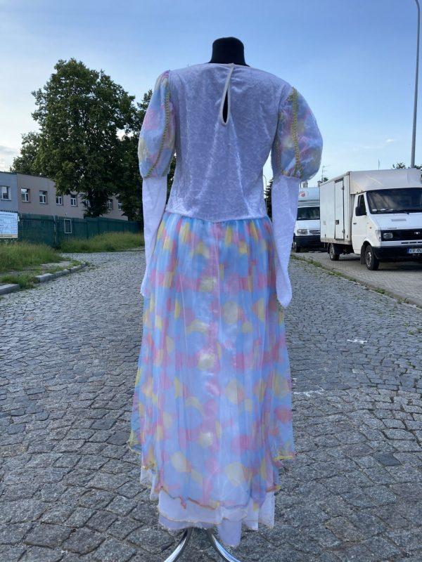 Ksiezniczka z Bajki teczowa damski kostium M 4