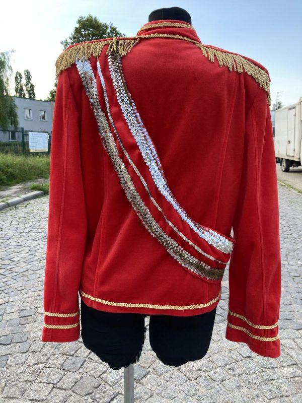 Michael Jackson kostium czerwony 1