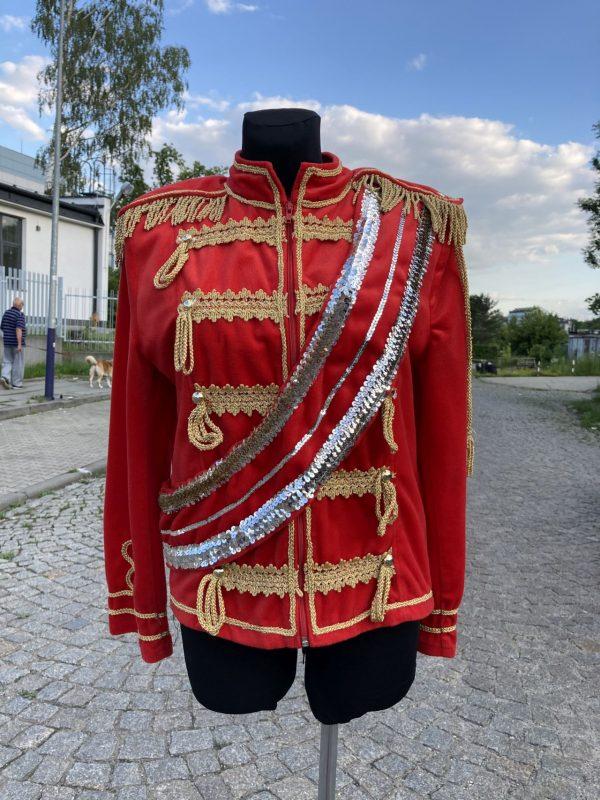 Michael Jackson kostium czerwony 2