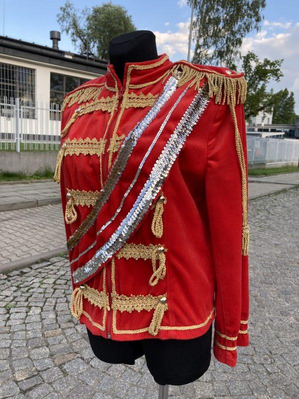 Michael Jackson kostium czerwony 3