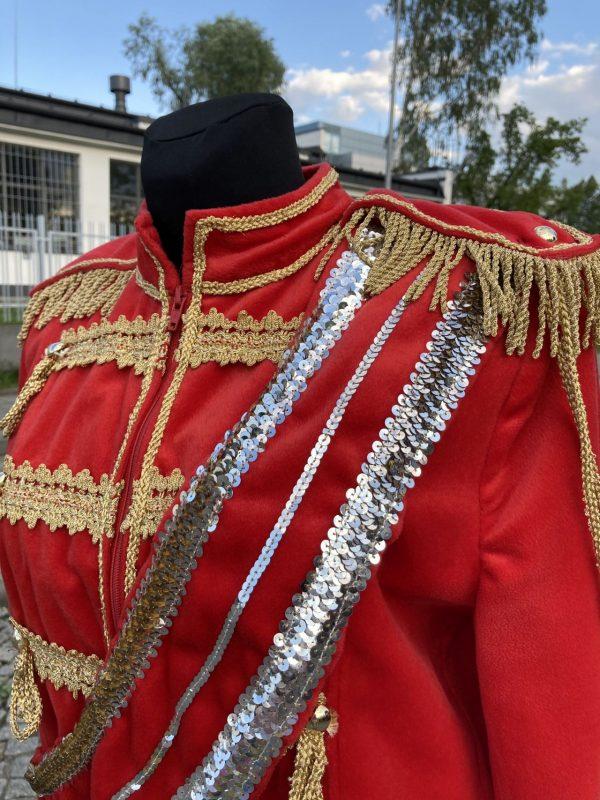 Michael Jackson kostium czerwony 4