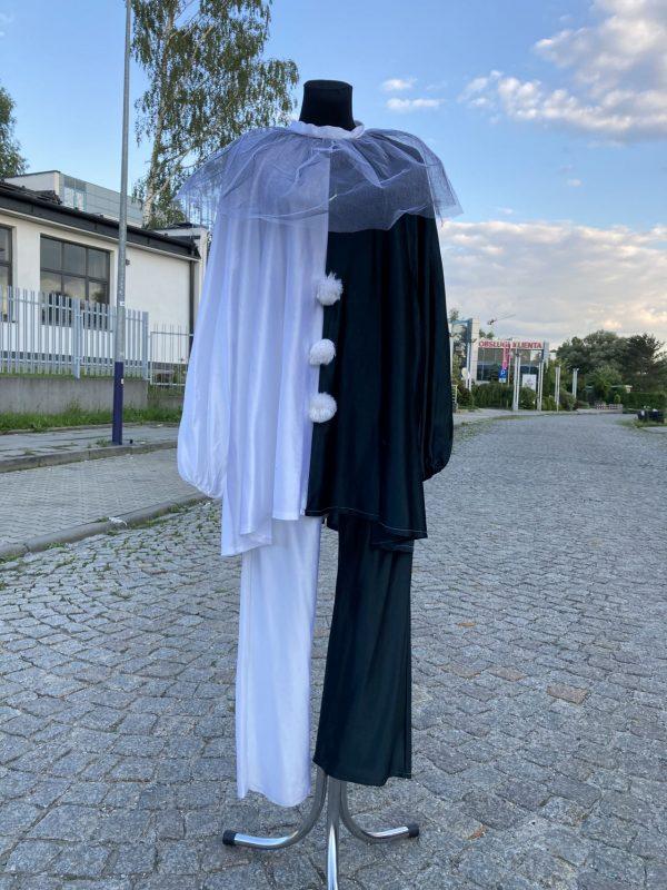 Pierrot Clown Arlekin kostium XL 1