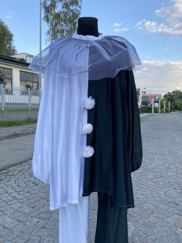 Pierrot Clown Arlekin kostium XL 2
