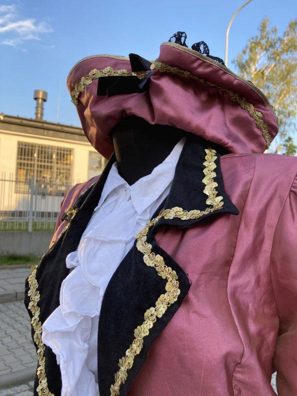 Piratka z czapka przebranie damskie S 5