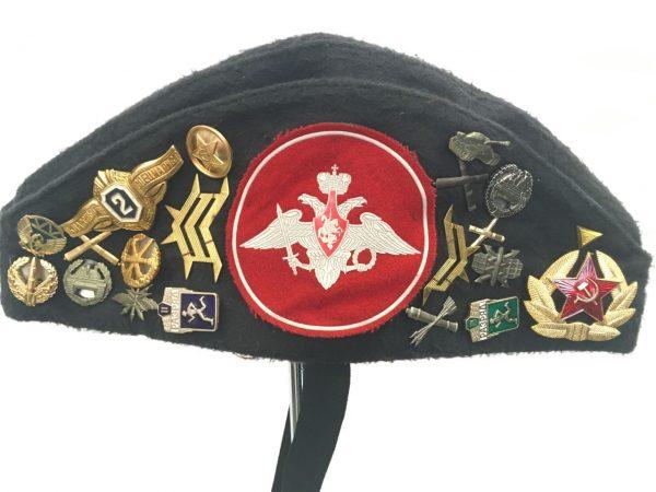 Radziecka furazerka z odznakami lotnicza wynajem Krakow 2