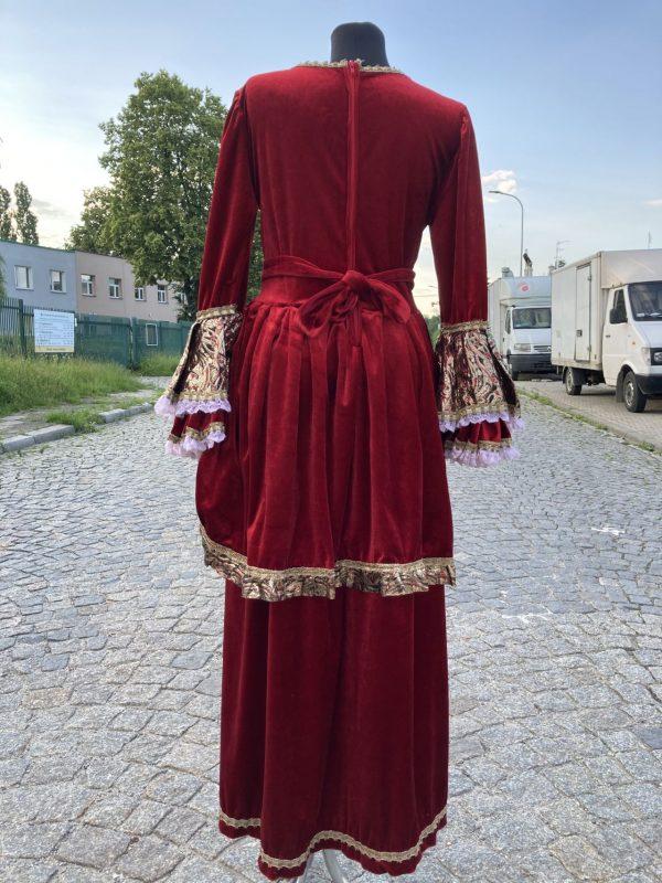 Szlachcianka Czerwona Krolowa stroj damski M 5