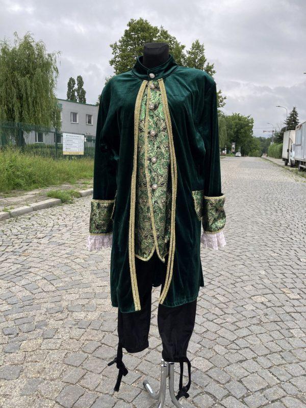 Szlachcic zielony Markiz meski kostium przebranie M 1