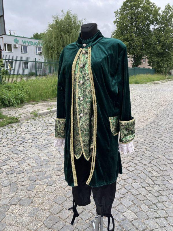Szlachcic zielony Markiz meski kostium przebranie M 2