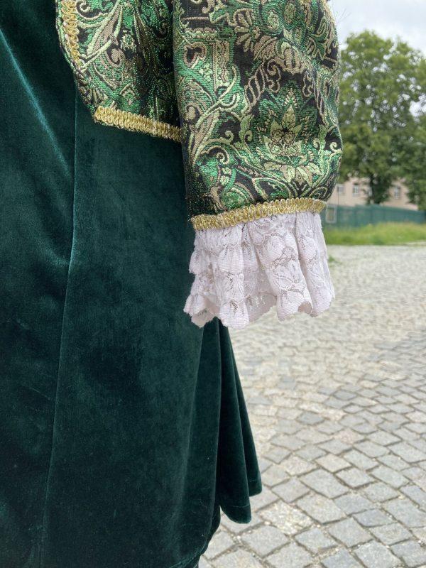 Szlachcic zielony Markiz meski kostium przebranie M 3