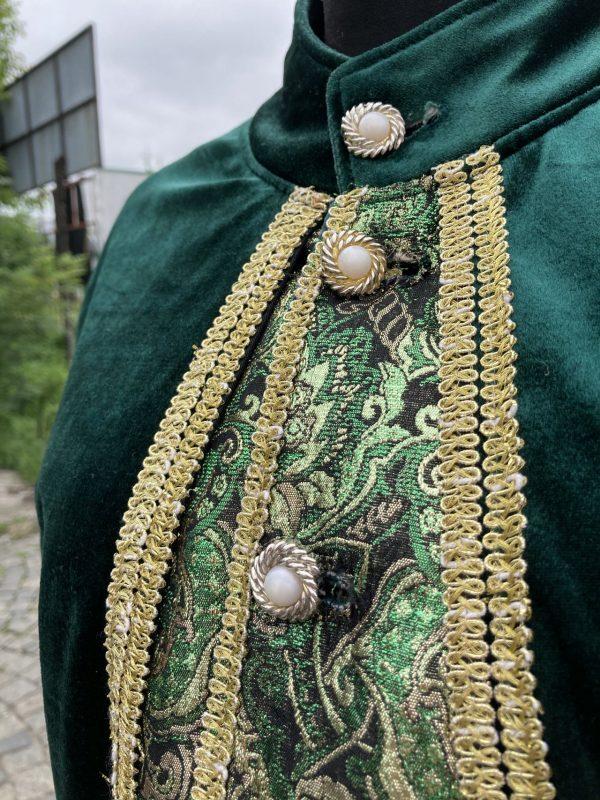 Szlachcic zielony Markiz meski kostium przebranie M 4