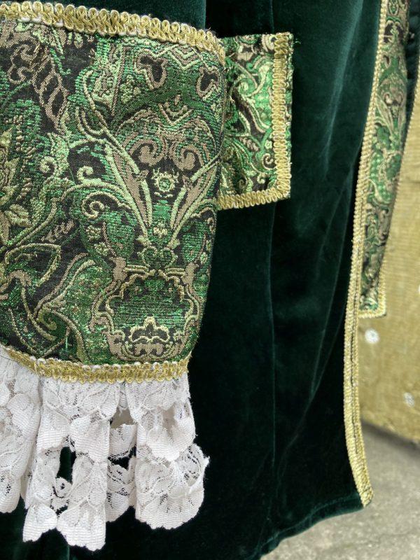 Szlachcic zielony Markiz meski kostium przebranie M 5